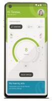 Bild der Fernsteuerungsfunktion in der myPhonak App