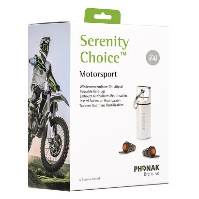 Packshot emballage de Serenity Choice Motorsport