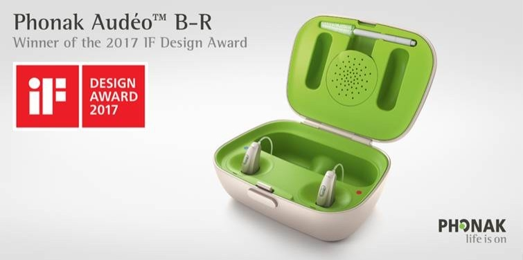 Phonak Audeo B-R - Winner of the 2017 IF Design Award