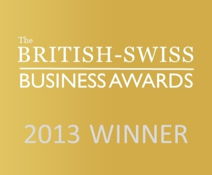 Winner of the British-Swiss Business Awards 2013