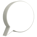Speech Bubble Circle