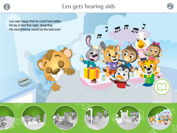 Leo App - Leo gets hearing aids