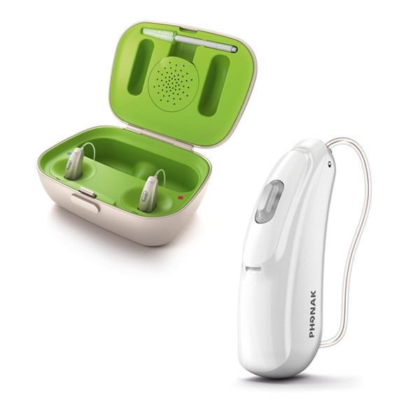 Phonak Audeo BR Rechargeable with Case