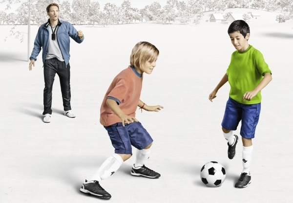 Soccer children image