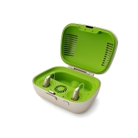 Phonak Charger Case Combi er både lader og etui for høreapparater
