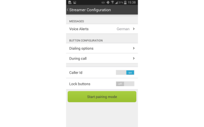 RC App Streamer Settings