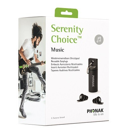 Packshot package of Serenity Choice Music