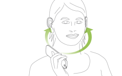 EasyCall with phone - holding position
