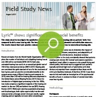 Lyric Field Study News
