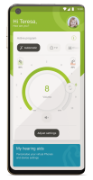 billede af funktionen myphonak app - remote control