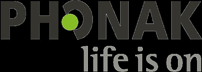 Logo Phonak life is on